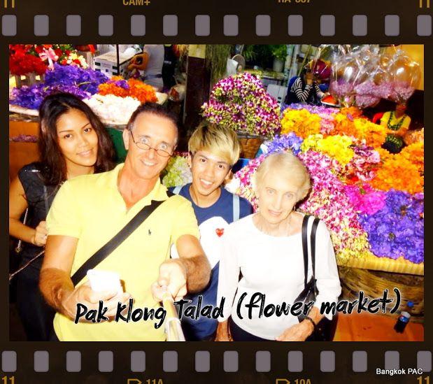 Bangkok Flower Markets (Paak Klong talaat) is grass roots tourism night bazaar.  Intensity medium walking tour