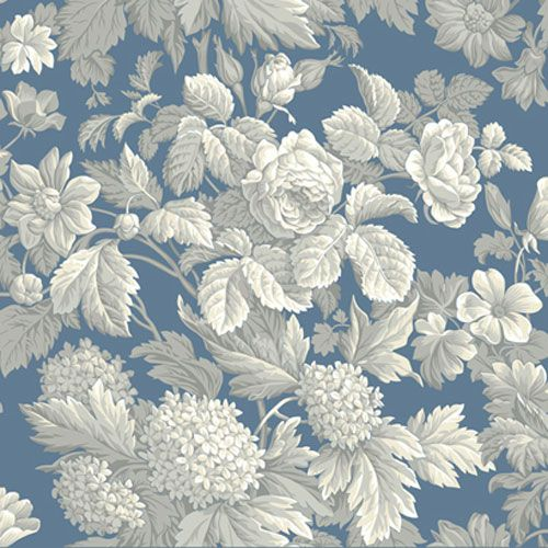 French Dressing Antique Floral Wallpaper York Wallcoverings Wallpaper Wall Decor Home Deco