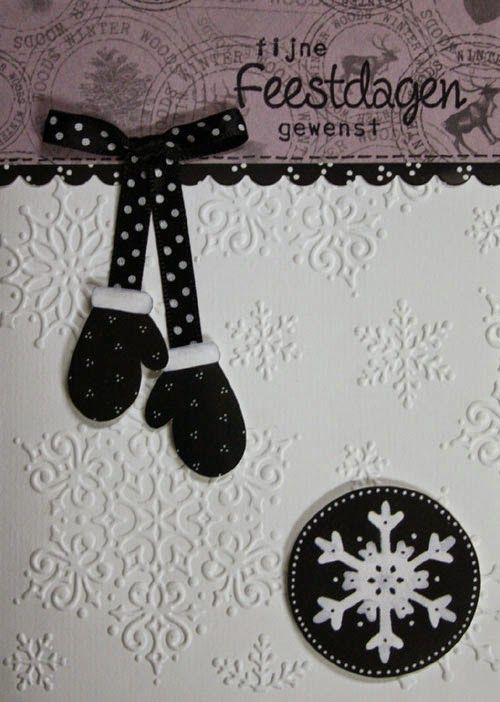 Winterkaarten met sneeuwman. In dit blogbericht zie je er 4. Voor het zwarte schulprandje is de vierkante schulpmal gebruikt.