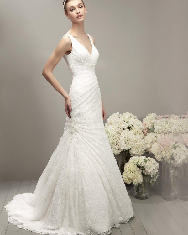2014 Adriana Alier Robe de mariée