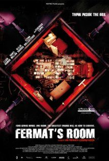 Fermat's Room.  A movie with math puzzles (although you've probably heard them all before) and four mathematicians as the heroes.  Yippee!!