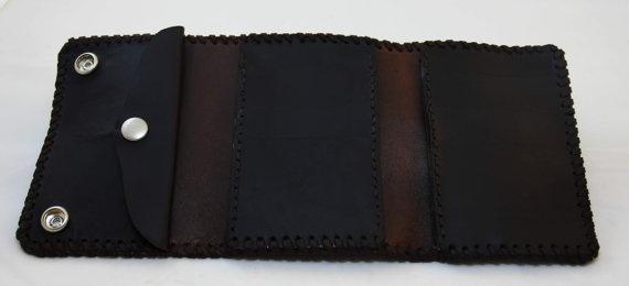 Leather Passport Case - Scatter Lines by VIDA VIDA 0tRXo