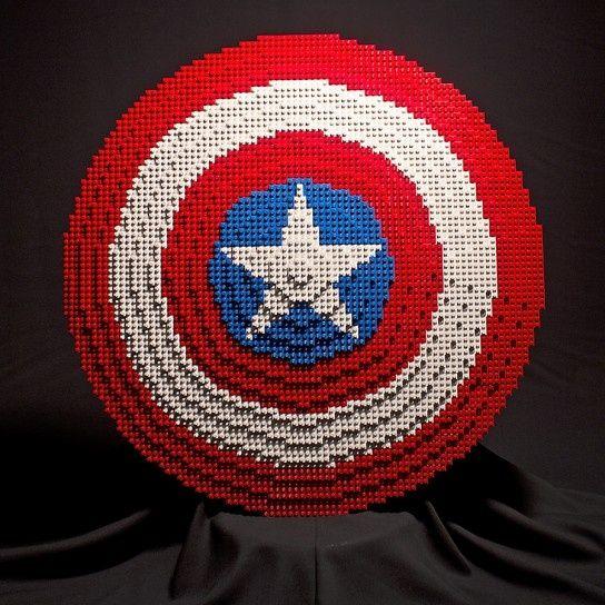 Lego - Captain America's shield!