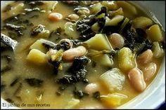 El caldo verde en mi casa se tomo siempre en invierno como una sopa, es un primer plato para calentar el cuerpo. En casa nos encanta, l...