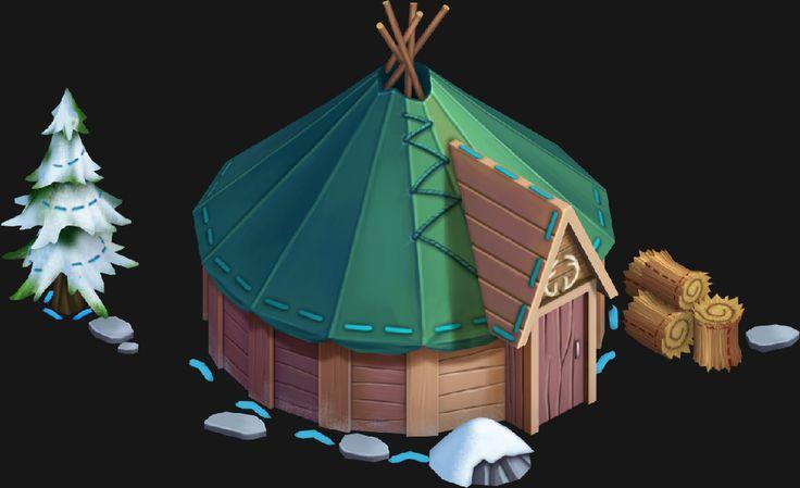 ArtStation - Disney's Enchanted Tales - Frozen Assets, Johnny Perkins