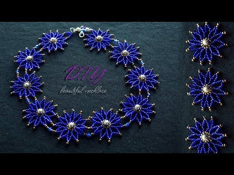 (12) How To Make Necklace | Home Made Tutorial | DIY | Designer Necklace Making Step By Step at Home - YouTube