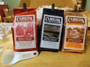 Amazing coffee from Carolina Coffee Co.