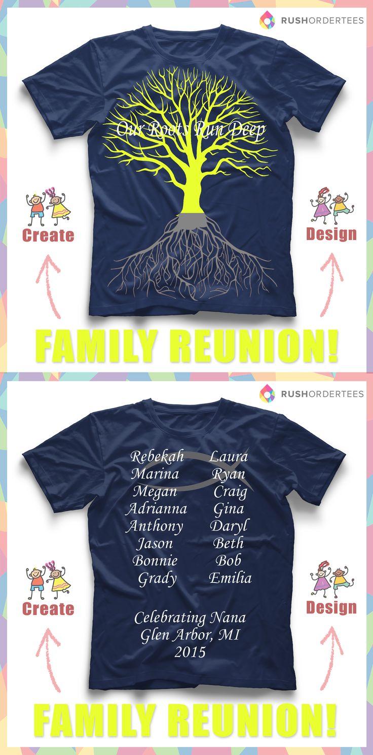 T shirt design evansville indiana -  Our Roots Run Deep Family Reunion Custom T Shirt Design Idea S Create