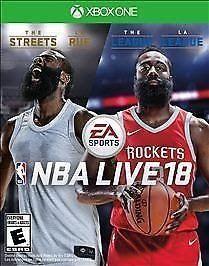 NBA Live 18 (Microsoft Xbox One 2017) New Sealed Free Ship