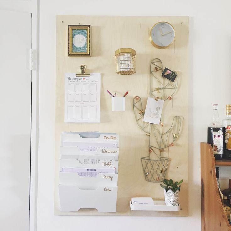 Spectacular Command Center Family Planner Ordnungshelfer Familienleben Material von Ikea u Maison du Monde