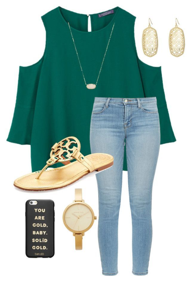 "Outfits for high school 2018: ""School"" by abbyharshman8 on Polyvore featuring MANGO, J Brand, Tory Burch, Kend… – Summer Outfit Ideas Stylevore"