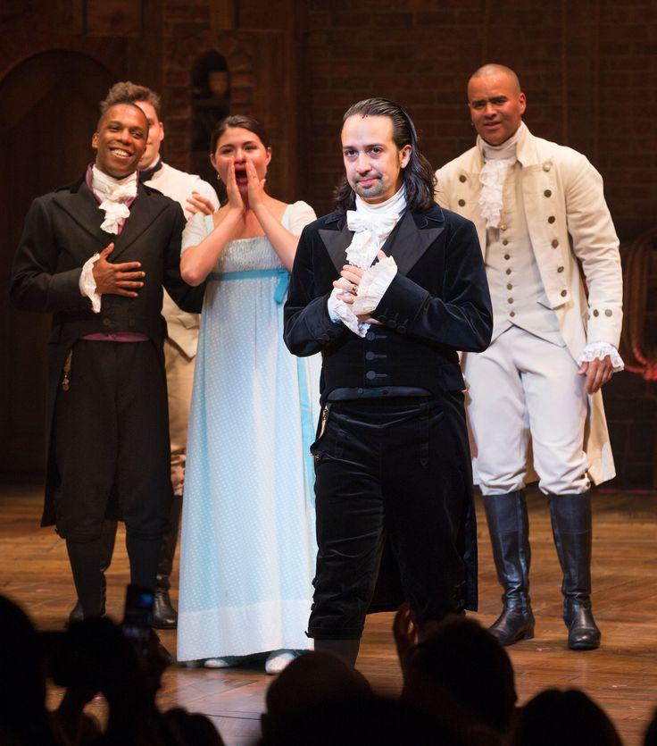 Lin-Manuel Mirandas Final Bows in Hamilton on Broadway