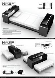 Chairat Vechayanwong Modular Concept Transformer Bed Bedroom