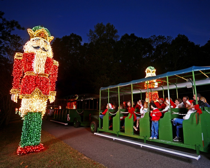 Fantasy In Lights Christmas light display Callaway