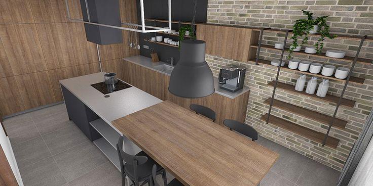 Bytový dizajn Čadca - Žarec I - rekonšrtukcia bytu