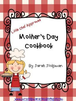This is the cutest cookbook that involves both Queen of the Kitchen and the Little Chef! This is the perfect Mother's Day gift!Included in this packet*Different Cookbook Cover Options (Mother's Day Cookbook-Little Chef Approved, Cookin' With PreK, Cookin' With Kindergarten, Cookin' With First Grade, What's Cookin'?)*Cookbook Poem*Blank Recipe Sheet*I love when my mom cooks_____ sheetMake sure to check out the preview before purchasing this fabulous cookbook so you can see exactly what you…