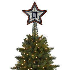 Detroit Tigers Tree Topper