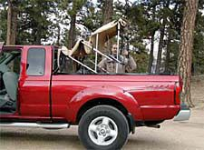 Softopper Retractable Canvas Truck Topper Camper Shell Tonneau Cover Truck Bed Cover