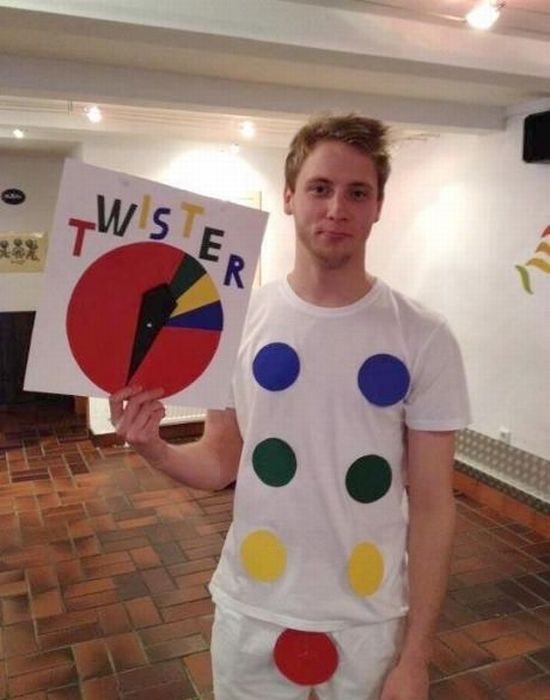 Twister costume: Laughing, Twister Costume, Stuff, Funny Halloween Costumes, Plays, Funny Costumes, Costumes Ideas, Halloween Ideas, Halloweencostum