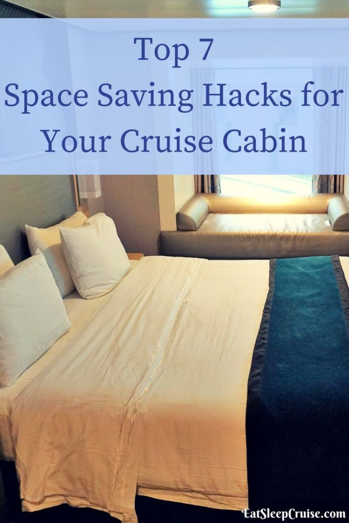 Top 7 Space Saving Hacks for Your Cruise Cabin #cruise #cruisetips