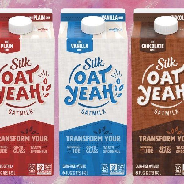 Silk Launches New Vegan Oat Milk Range In 3 Flavors At Walmart And Target Milk Brands Oat Milk Oats
