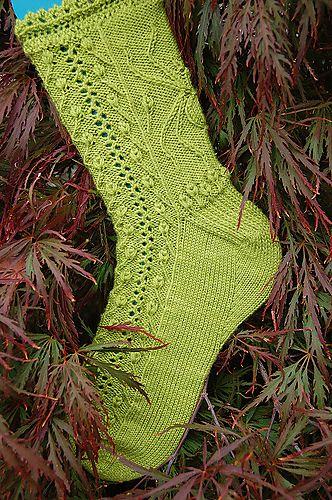 The Gardener socks by Leslie Comstock - free