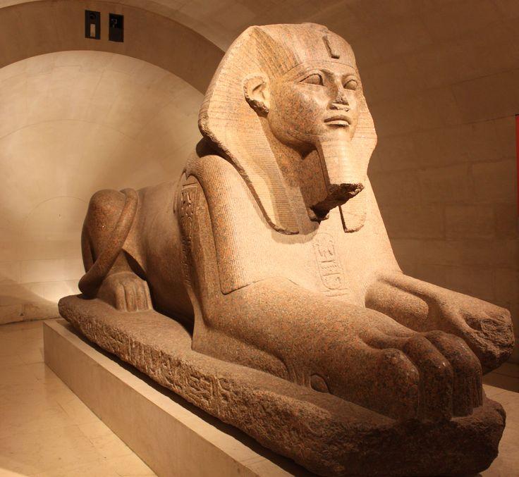 #Paris #Louvre - Grand sphinx (trouvé à Tanis)