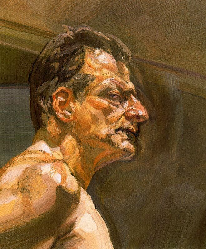 Lucian Freud, Reflection (Self-Portrait), 1981