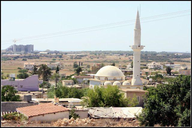 Bafra (Vokolida) köyü, İskele, Gazi Mağusa Kıbrıs. (Famagusta - Cyprus)