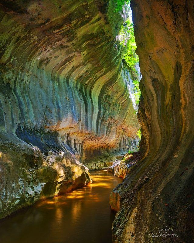 Cheile Banitei gorge, Romania / Serban Simbolotecan