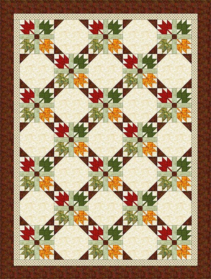 Easy Maple Leaf Quilt