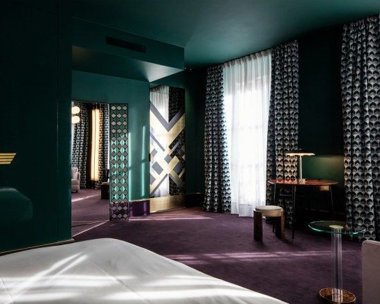 WES ANDERSON, PLEASE DO A MOVIE HERE. Hotel Saint-Marc Paris by Dimore Studio   Yellowtrace
