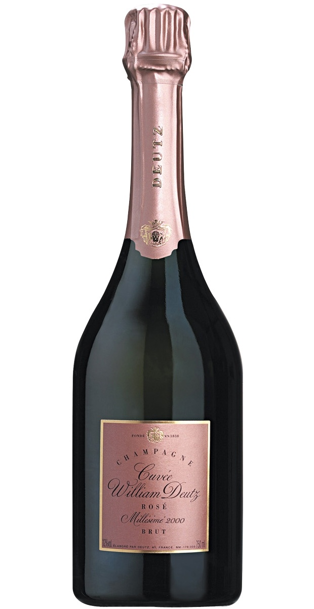 Deutz William Deutz rosé vintage 2000 champagne - Planete champagne