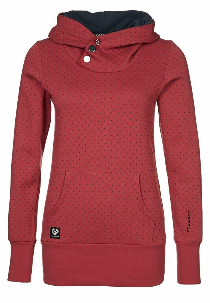 Ragwear - CHELSEA - Hættetrøjer - rød