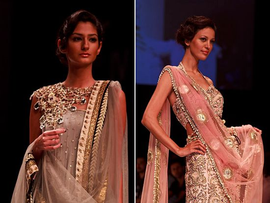 Payal Singhal's http://www.payalsinghal.com/ Bridal Fantasy Collection at Lakmé Fashion Week Winter/Festive 2011