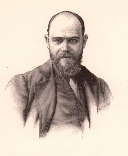 Portrait-XIXe-Lucien-Levy-Dhurmer-Alger-Sculpture-Peinture-Symbolisme-Goldhurmer