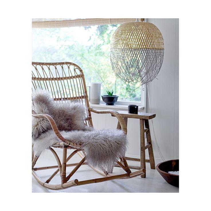 rocking chair rotin bloomingville rotin pinterest. Black Bedroom Furniture Sets. Home Design Ideas