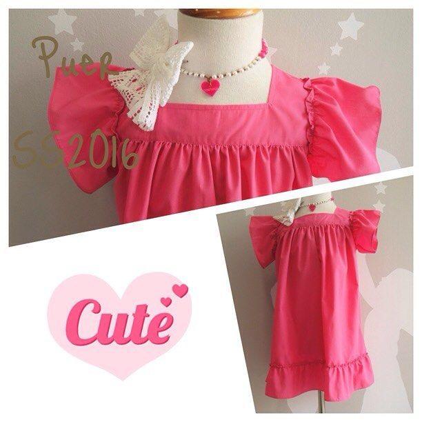#puerloja #madeinportugal #almada #fashionkids #pink #girl #handmade #ss2016 #dress #vestido