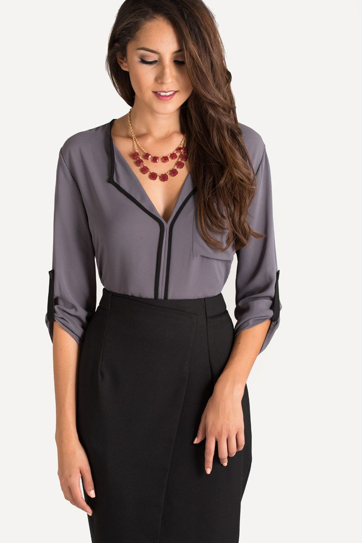 Cute Blouses for Women, Work Outfits, Fall Fashion – Morning Lavender - Best 25+ Cute Blouses Ideas Only On Pinterest Spring Blouses