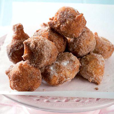 Taste Mag | Banana doughnut fritters @ http://taste.co.za/recipes/banana-doughnut-fritters/