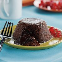 Molten Chocolate Lava Cakes by @mytexaslife