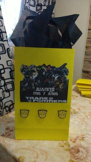 Bolsitas Transformers