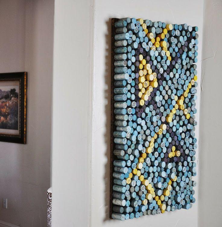 Wine Cork Art: 328 Best Cork Art Images On Pinterest