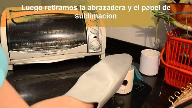 Sublimacion de tazas en horno electrico - gas                              …