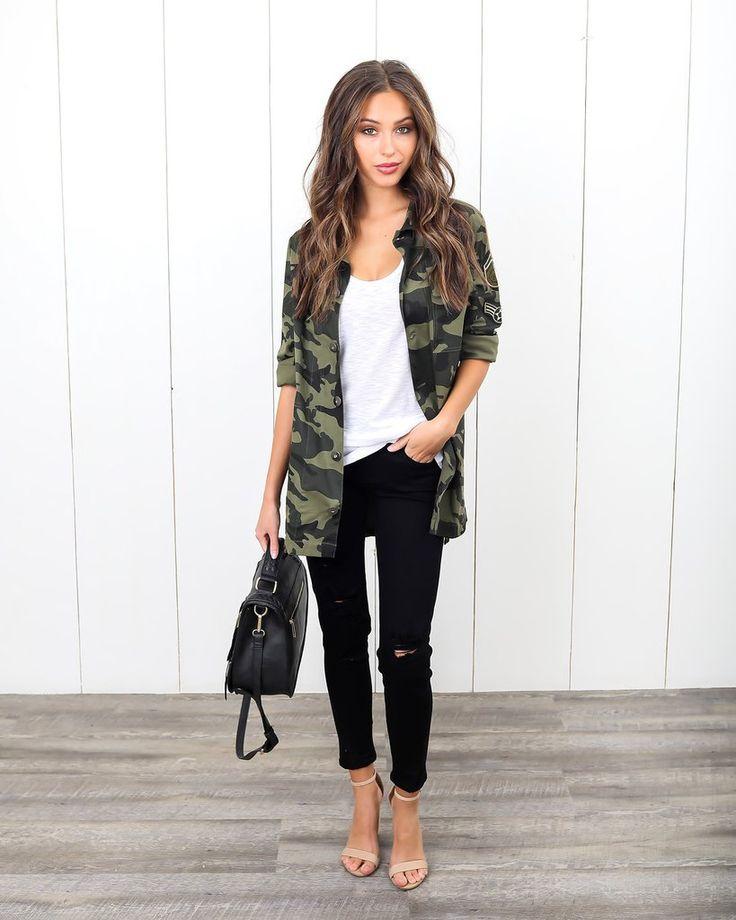 Rank & Style Camo Jacket
