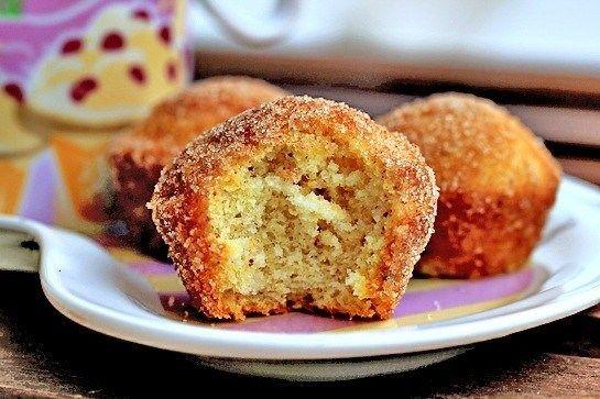 Мини капкейко-пончики