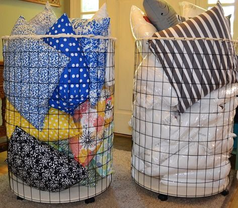 DIY - wire basket. great tutorial! I will buy the base from craft store instead of cutting it from a sheet of plywood.