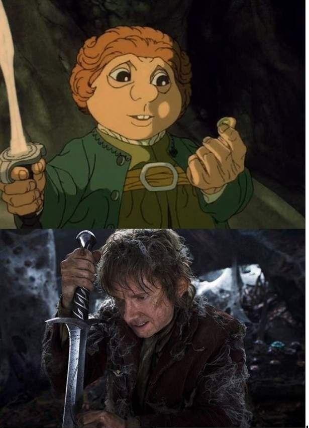 The hobbit biblo baggins character growth essay