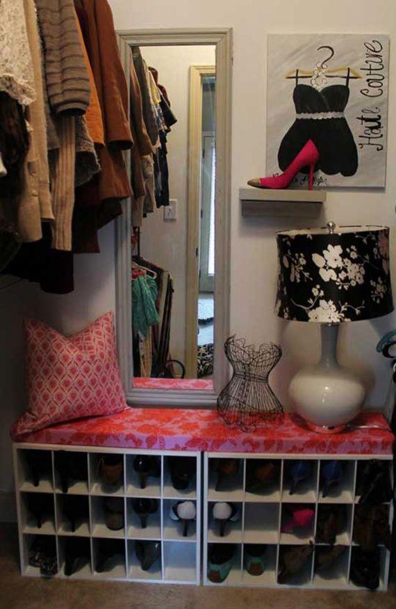 die besten 25 schuhregal selber bauen ideen auf pinterest diy schuhregal aufbewahrung f r. Black Bedroom Furniture Sets. Home Design Ideas