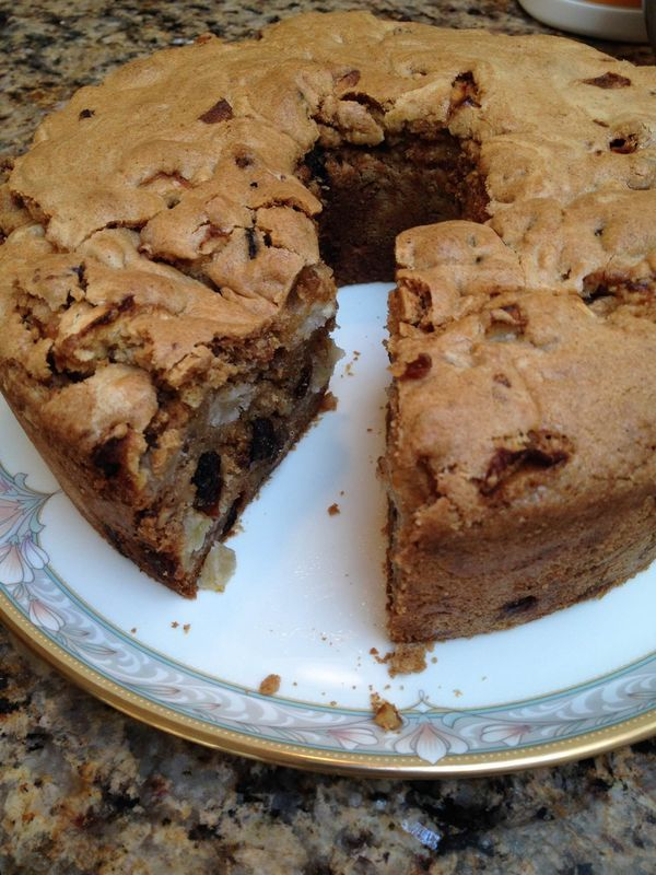 Extremely Moist Apple Cake Recipe - A deliciously moist apple cake filled with…